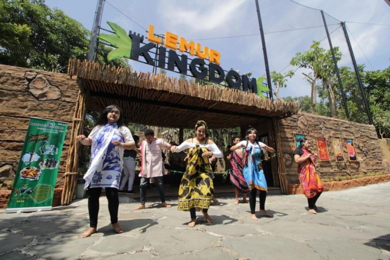 "Keseruan Acara ""Madagascar Weekend in The Zoo"" di Batu Secret Zoo"